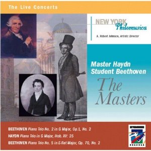 Bild für 'Master Haydn, Student Beethoven: The Masters'