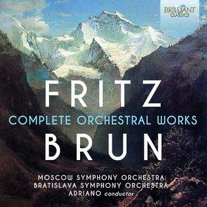 Image for 'Fritz Brun: Complete Orchestral Works'
