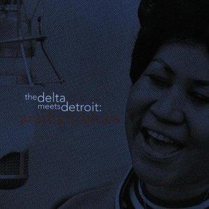 Image pour 'The Delta Meets Detroit: Aretha's Blues'