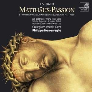 Image for 'Matthäus-passion, BWV 244 (Herreweghe)'