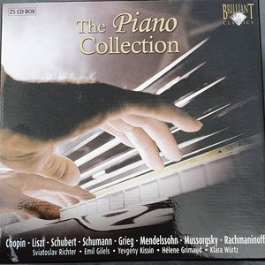 Bild für 'The Piano Collection (Brilliant Classics)'