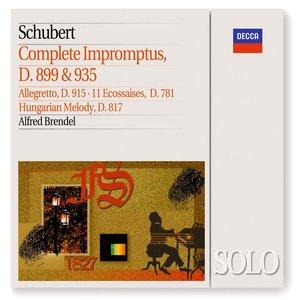 Image pour 'Schubert: Complete Impromptus, D899 & D935; 11 Ecossaises, &c'
