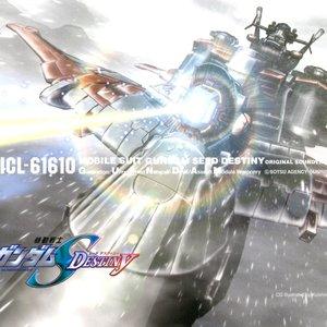 """""""機動戦士ガンダムSEED DESTINY ORIGINAL SOUNDTRACK III""""的封面"""
