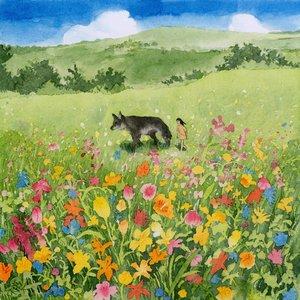Bild für 'Wolf in Color'
