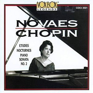 Image for 'Chopin: Études, Nocturnes & Piano Sonata No. 2'