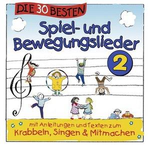 Image for 'Die 30 besten Spiel- und Bewegungslieder 2'