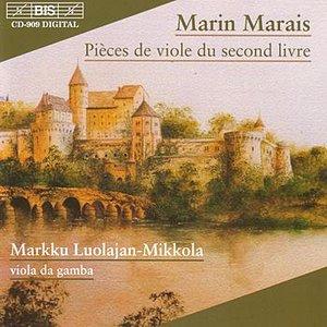 'MARAIS: Pieces de viole du second livre'の画像