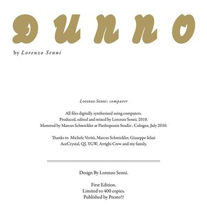 Image for 'Dunno'