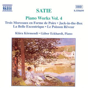 Image for 'Satie: Piano Works, Vol. 4'