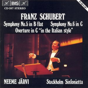 Image for 'Schubert: Symphony No. 5 / Symphony No. 6 / Overture in C Major'