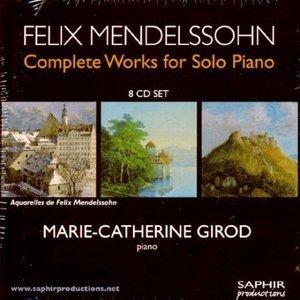 Image for 'Felix Mendelssohn: Complete Works For Solo Piano'