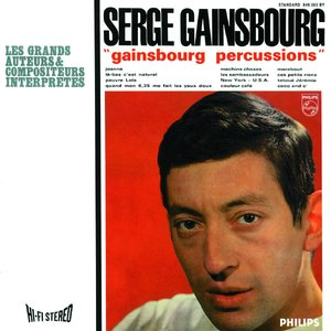 Image for 'Gainsbourg Percussions'