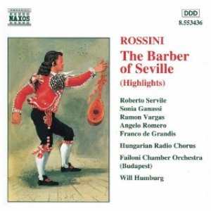 Image for 'Rossini: The Barber Of Seville (Highlights)'