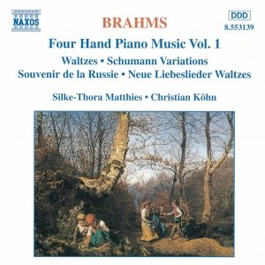 Image for 'BRAHMS: Four-Hand Piano Music, Vol. 1'