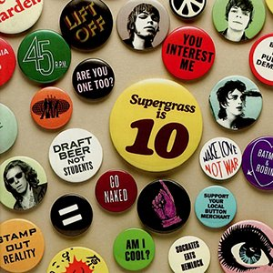 Image for 'Supergrass Is 10. The Best Of 94-04'