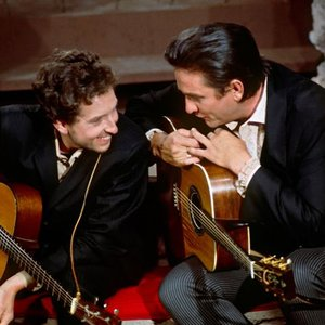 Image for 'Bob Dylan & Johnny Cash'