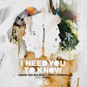 Image for 'I Need You To Know'