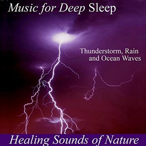Image pour 'Tropical Storm for Deep Sleep - Thunderstorm Sounds and Rain Sound Sounds of Nature White No'