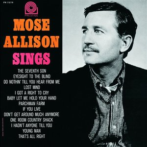Image for 'Mose Allison Sings'