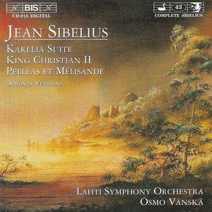 Image for 'Sibelius: Karelia Suite / Kung Kristian Ii / Pelleas Och Melisande'