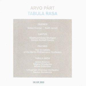 Image for 'Arvo Pärt: Tabula Rasa'
