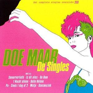 Image for 'Doe maar - De singles'