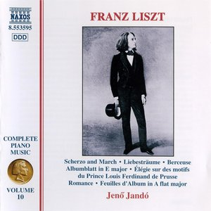 Image for 'Liszt: Scherzo and March / 3 Liebestraume / Berceuse'